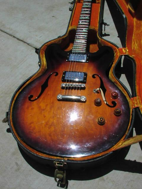 198? ESP Semi-Hollow Body
