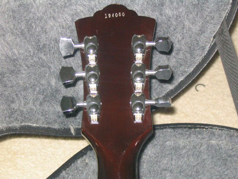 1978 Guild D-35 Tuners