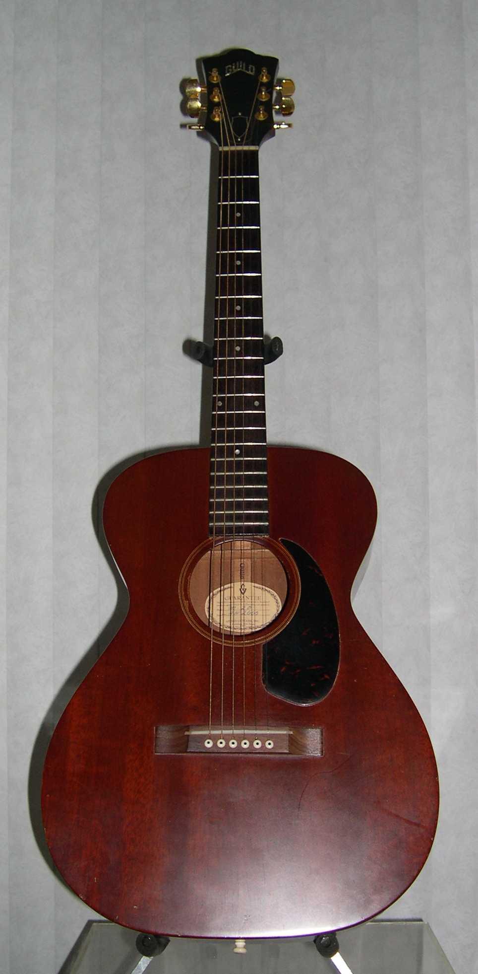 bozo 39 s guild guitar page 1965 guild m 20. Black Bedroom Furniture Sets. Home Design Ideas