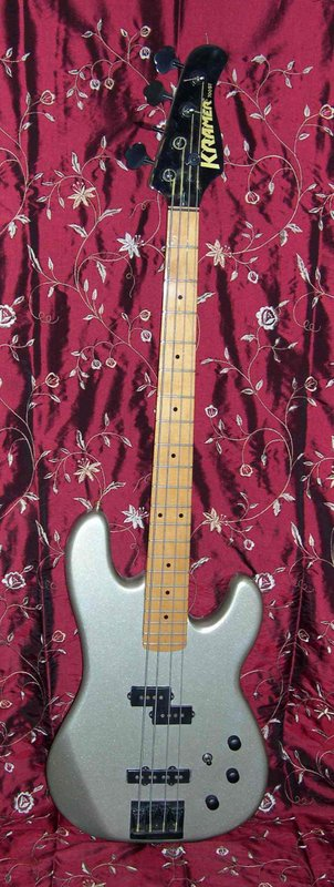 1988 Kramer 4-String Bass