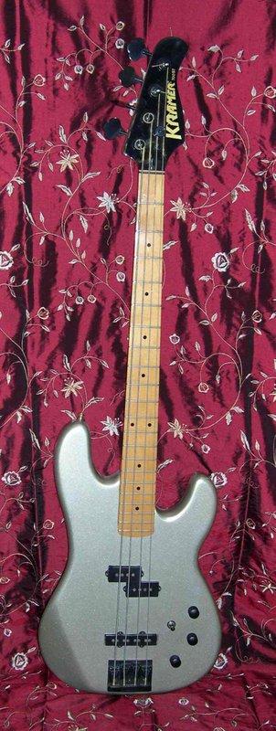 1988 Kramer 4-String Bass