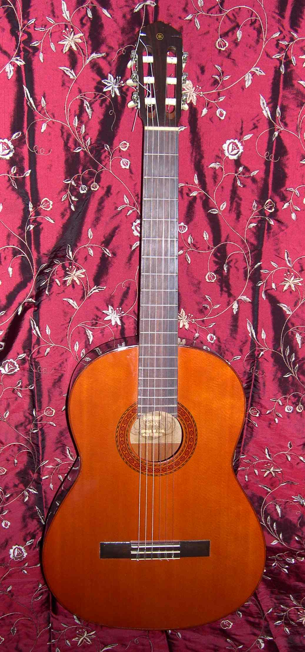 1976 Yamaha G-65A Classical Guitar - Front View