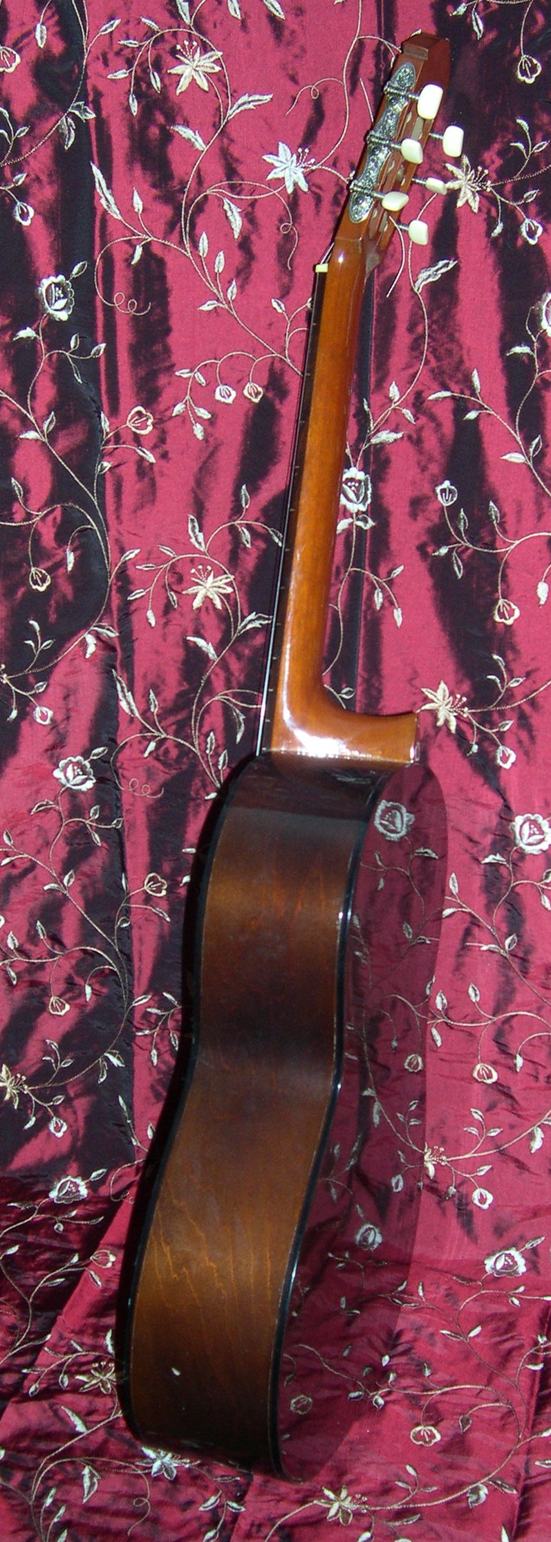 1976 Yamaha G-65A Classical Guitar - Side View