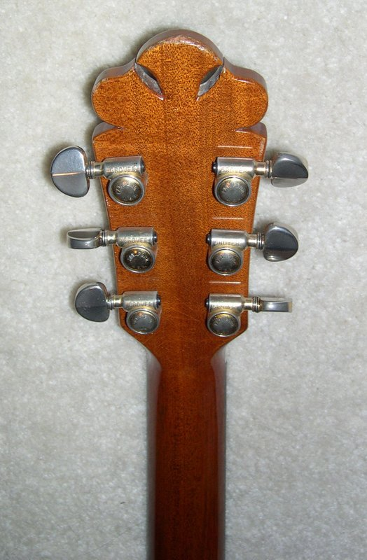 1969 Bozo Bell Western - Tuners
