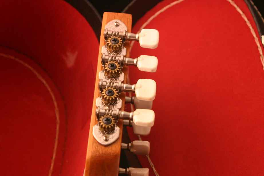 Mexican A-Style Mandolin - Tuners