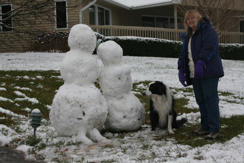 The snowcouple & friends